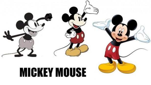 Istoria aparitiei si dezvoltarii lui Mickey Mouse