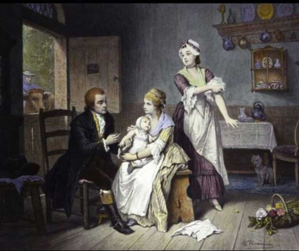 Inventarea vaccinarii - ca actiune medicala