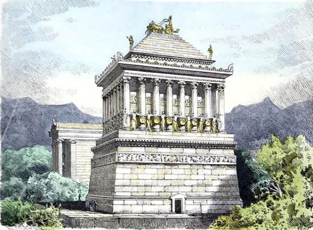 Istoria Mausoleului din Halicarnas