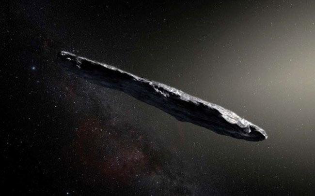 Oumuamua - mesager venit din neant