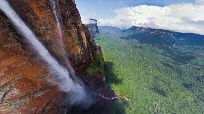 cea mai inaltă cascadă din lume Cascada Angel