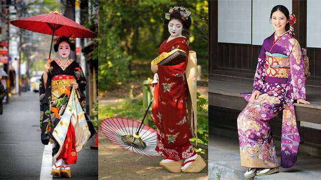 Istoria kimonoului joponez