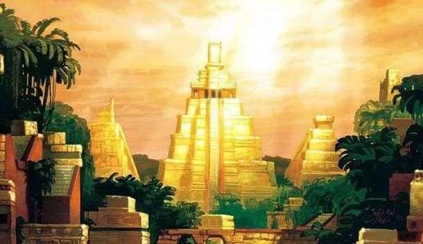 Legenda orasului din aur El Dorado