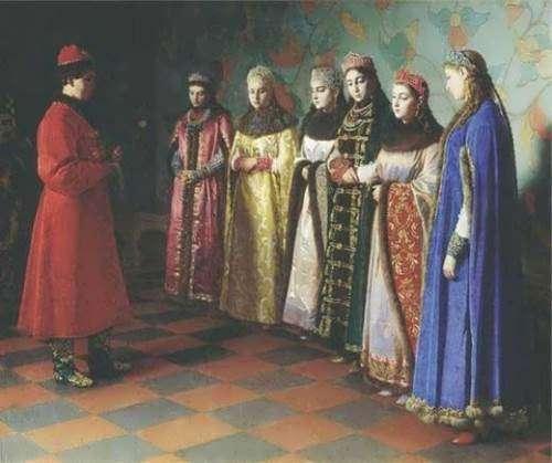 Cele 8 sotii ale lui Ivan cel Groaznic