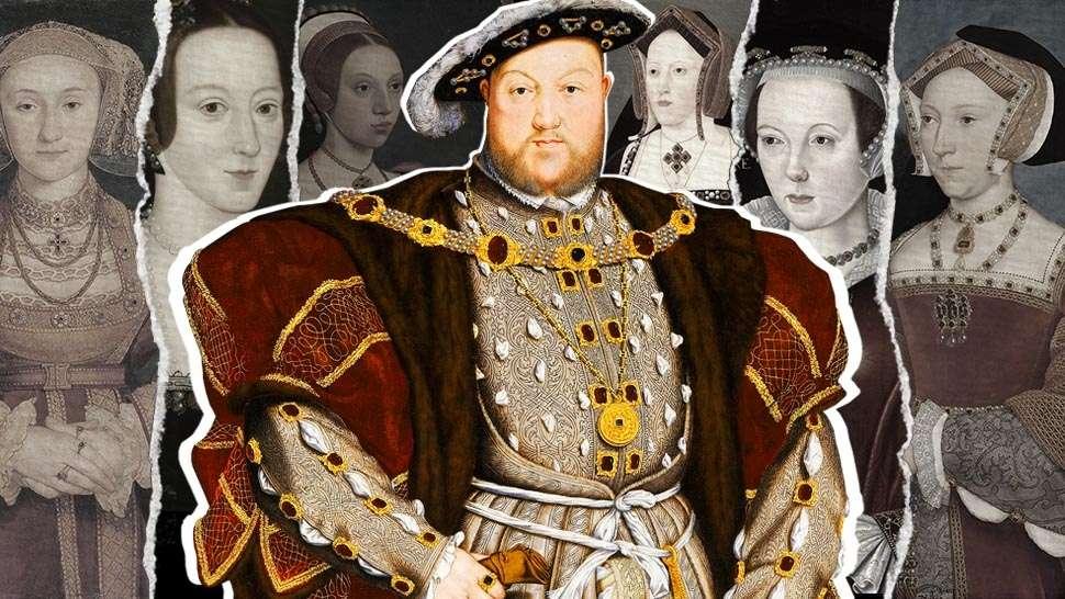 Regele Henric al VIII-lea si cele sase sotii ale sale